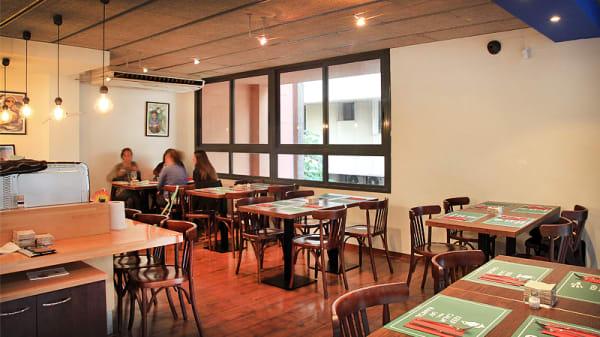 vista interior - Cantina La Mexicana -  Les Corts, Barcelona