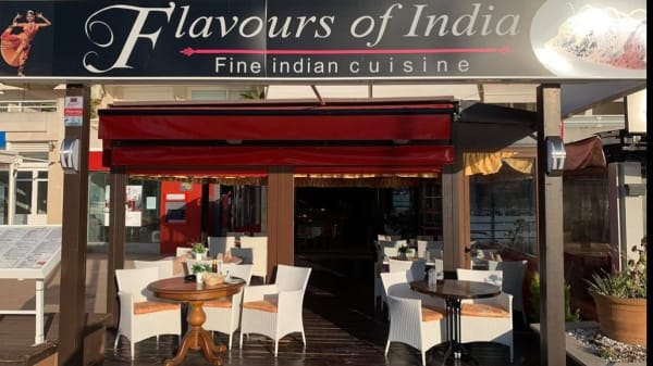 Entrada - Flavours of India, Andratx