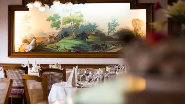 Salle de restaurant - Hostellerie Saint-Florent, Oberhaslach