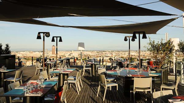 Terrasse - Le Rooftop Tetedoie, Lyon-5E-Arrondissement
