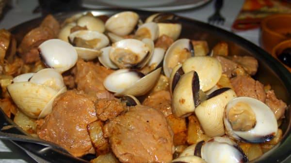 Sugestão prato - Restaurante Cantinho dos Liríos