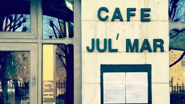 Façade - Café Jul Mar, Nantes