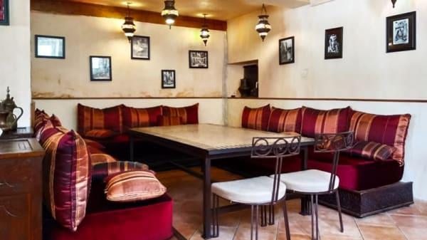 Salle du restaurant - La Casbah, Acquigny