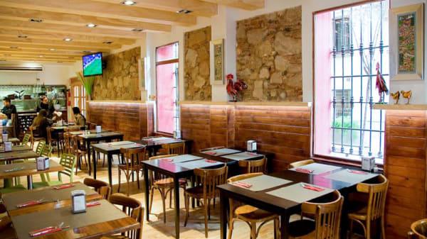 Vista del interior - Cantina la Mexicana, Barcelona