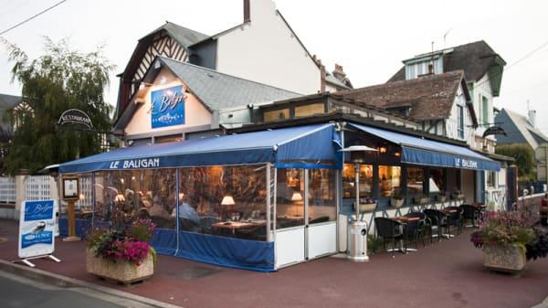 Le restaurant de l´extérieur - Le Baligan, Cabourg