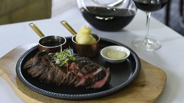 Grass Fed Chateaubriand 600g served with Truffle Potato Puree - The Gates Restaurant, Pokolbin (NSW)