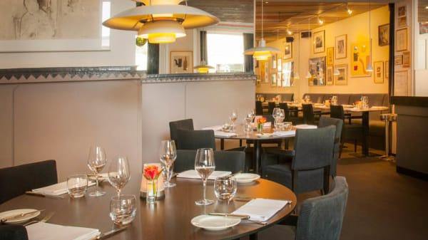 restaurantzaal - Restaurant Bouwkunde, Deventer