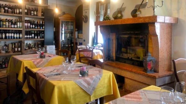 Vista sala - Hosteria Croce d'Oro, Desenzano del Garda