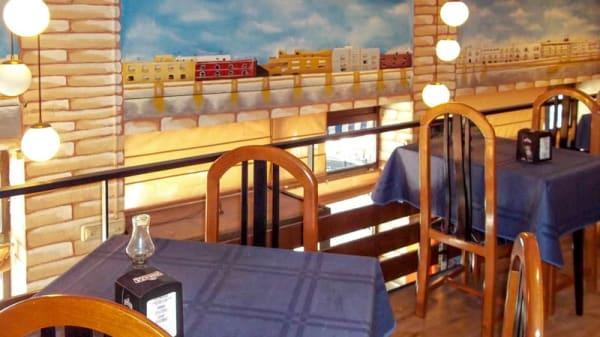 Detalle de una mesa - Nuria, Sevilla