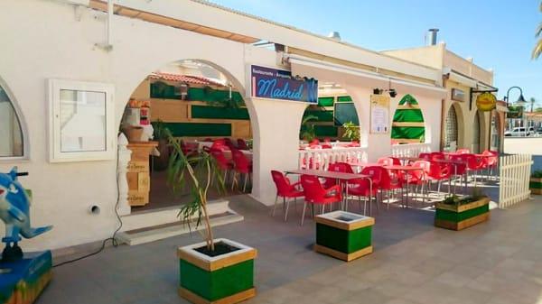 Fachada - Restaurante Madrid, Mil Palmeras