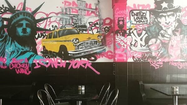Room's view - Chefzi, London