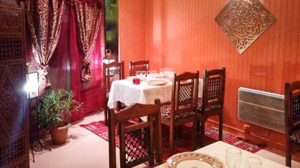 coin de la salle - La Table du Maroc, Le Mans