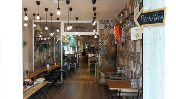 Vista sala - Mozzarella & Caffe, Terrassa