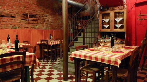 Vista sala - Cantine Barbaroux, Torino