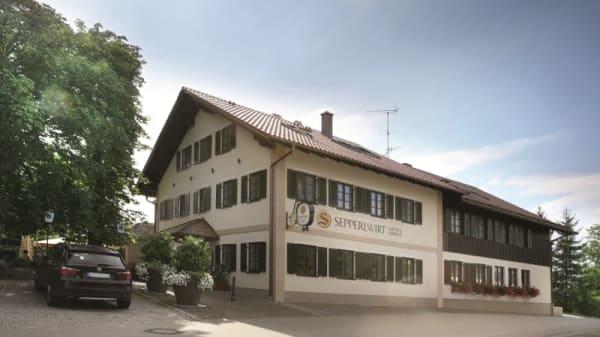Terrasse - SEPPERLWIRT Gasthof & Landhotel, Seefeld