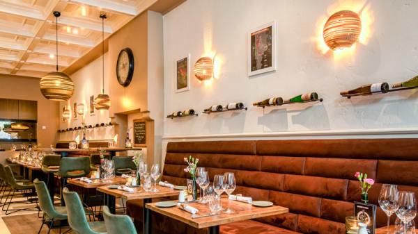 Het restaurant - Wijnbar Pinot, Breda