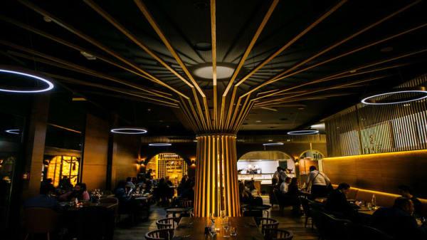 Salle - 8 Oak Steakhouse, Genève