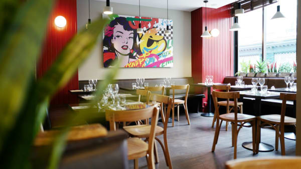 Salle du restaurant - Picobello, Strasbourg