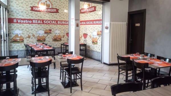 Sala - Happy Burger, Corsico