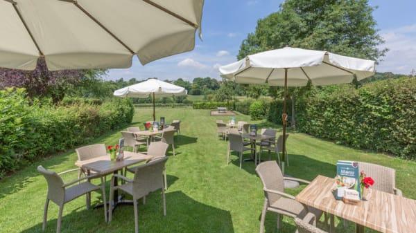 Het terras - Fletcher Hotel-Restaurant Bon Repos, Noorbeek