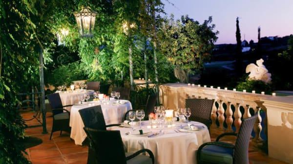 Terraza - La Veranda - Hotel Villa Padierna Palace, Benahavis