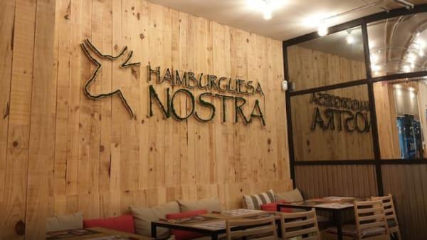Vista de la sala - Hamburguesa Nostra- Valencia, Valencia