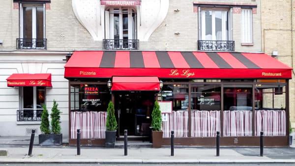 Vue devanture - Le Lys, Montreuil