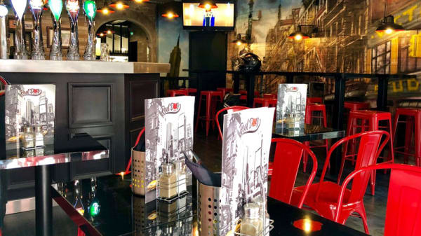 Salle du restaurant - Red Dog Café, Lyon