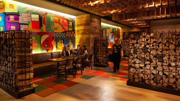 Back room - La Boca Bar & Grill, Adelaide (SA)