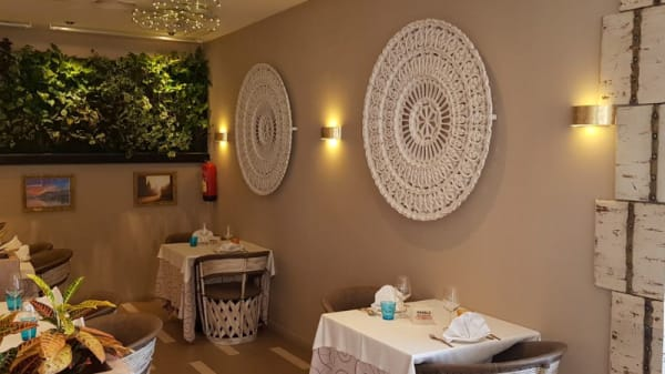 Vista de la sala - Masala Estepona Fine Indian Cuisine, Estepona