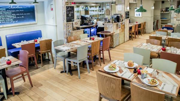 Intérieur - Bistro Burger Montorgueil, Paris