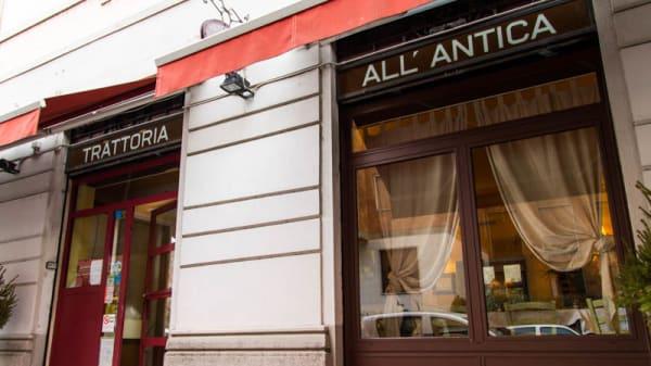 Esteriore - Trattoria all'Antica, Milano