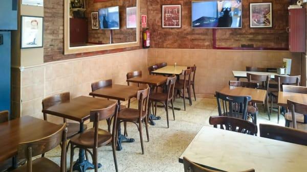 Vista sala - Bar Bodega Can Ros, Barcelona