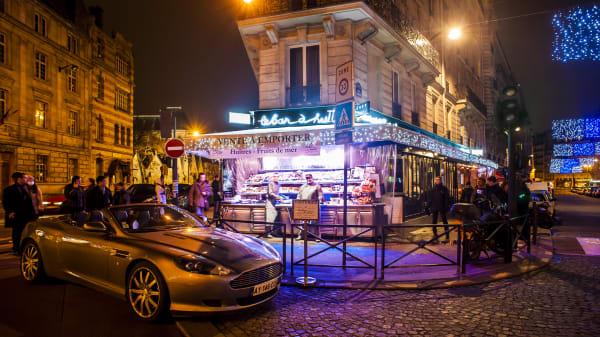 Devanture - Bar à Huîtres Saint Germain, Paris