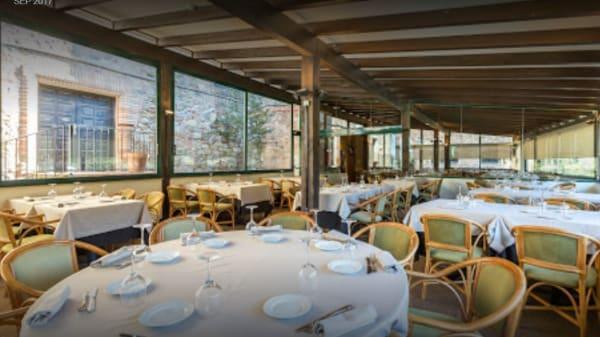 Vista de la sala - Restaurant Club de Golf Vallromanes, Vallromanes