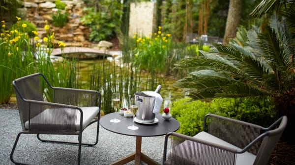 Restaurant Pic, Jardin, Apéritif - Anne-Sophie Pic - Valence, Valence