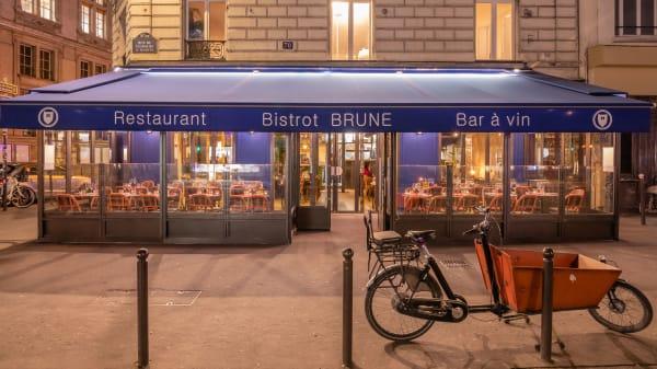 Façade - Bistrot Brune, Paris