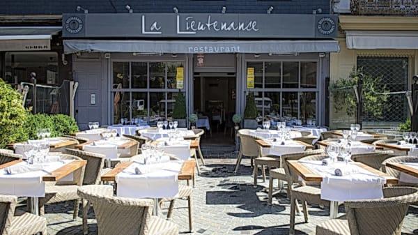 Terrasse - La Lieutenance, Honfleur