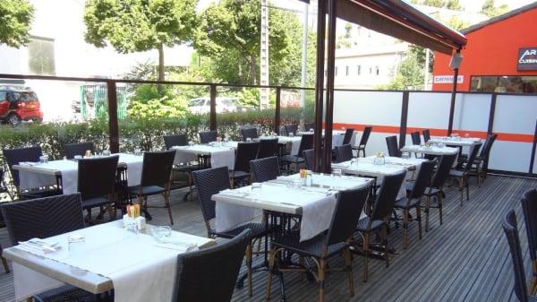 Terrasse - Black Angus - Restaurant La Valentine, Marseille