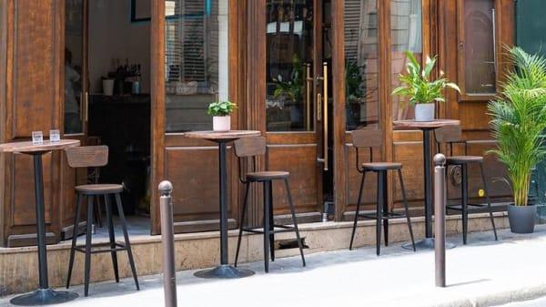 Terrasse - Ferment, Paris
