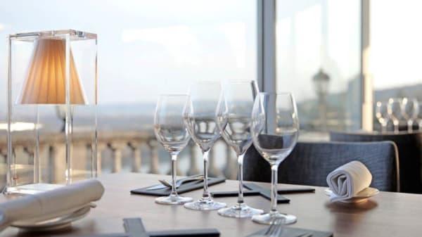 Vue de la salle - Le Panoramique du Domaine de la Corniche, Rolleboise
