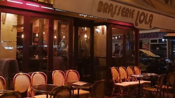 Entrée - Lola, Paris