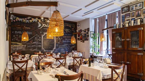 Vsta della sala - Pisco cucina di mare, Milan