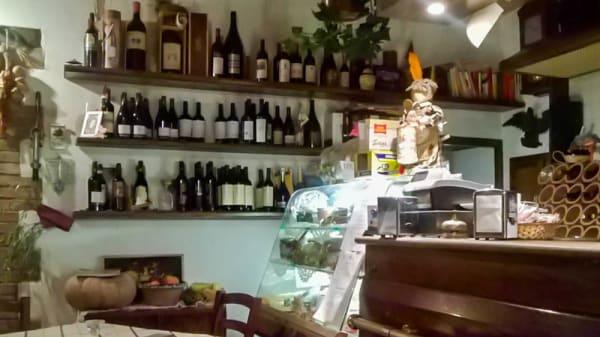 Sala del ristorante - Hosteria di Nonna Gilda, Spinacceto