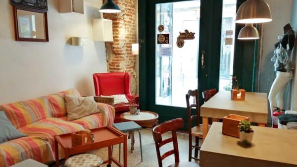 Vista del interior - Matilda Café, Madrid