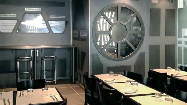 Salle du restaurant - Odyssey - Restaurant galactique, Paris