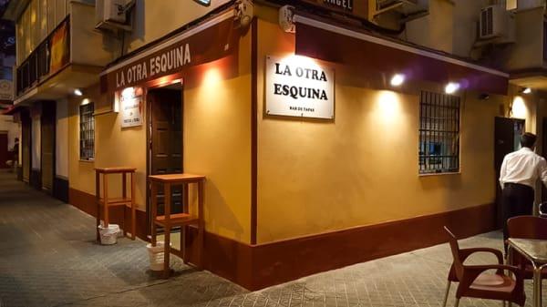 Entrada - La Otra Esquina, Sevilla