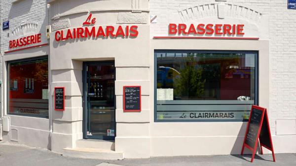 Façade - Le Clairmarais, Reims