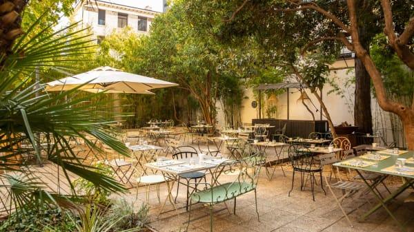 """Le Jardin de l'Orphéon """"Maison Montgrand"""", Marseille"""