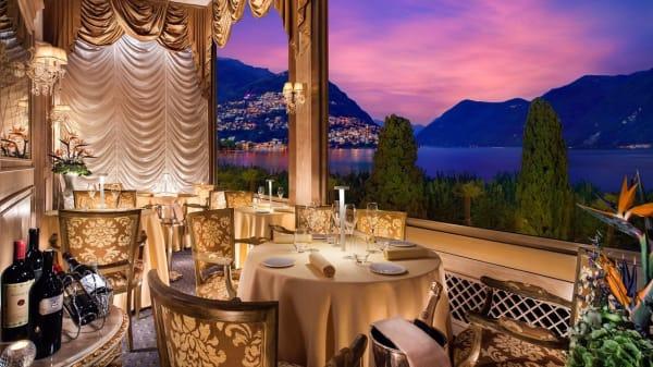 Vue de la salle - I Due Sud, Ristorante a Lugano, Lugano